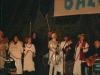 Duśka i Wojtek Staroniewicz wraz z chórem anielskim